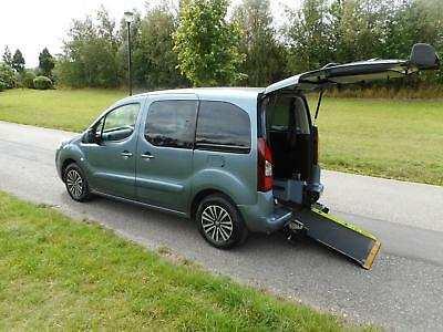 2013 Peugeot Partner Tepee 1.6 Hdi AUTOMATIC Wheelchair Accessible Vehicle WAV