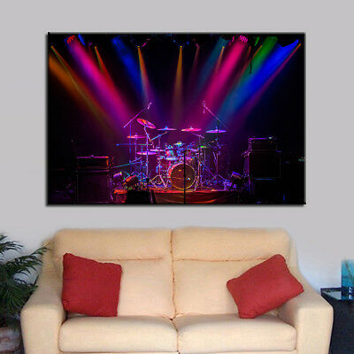 Drum 1 Piece Canvas Custom Made Painting Print Poster Wall Art Gift Home Decor