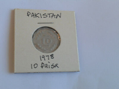 1978 Pakistan 10 Paisa coin Pakistani ten pice FAO Issue