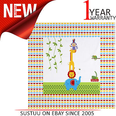 Fisher-Price Splash Mat - Reach the Sky│WaterProof+Comfortable+Easy To Wipe│0m+