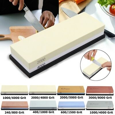 1000/4000 2000/5000 3000/8000 Grit Whetstone Knife Sharpener Flattening Home