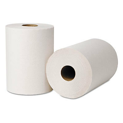 Hardwound Roll Towels, 425 ft x 8 in, Natural White 214250