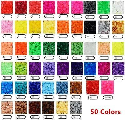 300PCS Perler Hama 5mm Beads Refill Pack Crafts DIY Toy For Kids 13 Colors