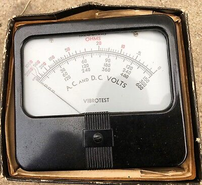 Simpson Ohm Meter Panel Meter A.C and D.C Volts