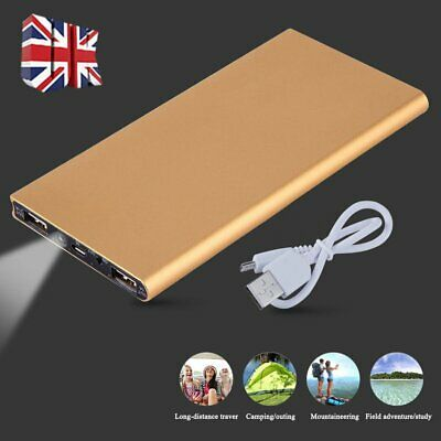 100000Mah Power Bank Pack Led 3 Usb Backup Battery Charger For Samsung Iphone