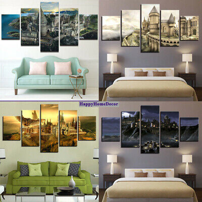 SPICES FOOD PAINTING 5 Pcs Canvas Print Kitchen Poster Wall Art