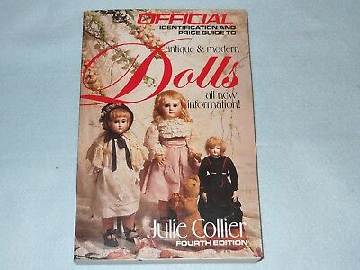 Book Official Identification Price Guide Antique & Modern Dolls Julie Collier0