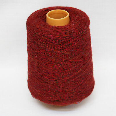 Shetland Weaving Yarn - Colour Loganberry - various cone weights