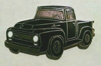 1956 Ford F100 Pickup Hat Pin - Black (large)