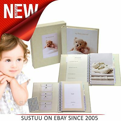 My Baby's Journal Deluxe│Keepsake To Treasure/Baby Record Book│144 Page│Giftware
