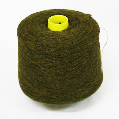 Shetland Weaving Yarn - Colour Moss - various cone weights