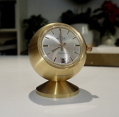 Ancienne Pendulette Buler Calendar De Luxe Antimagnetic Swiss