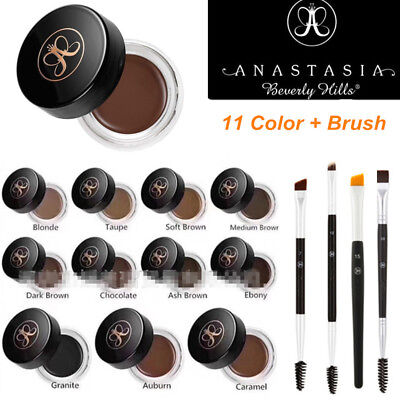 New 11 Anastasia Beverly Hills DIPBROW Pomade Make Up Dip Brow Pomade with Brush