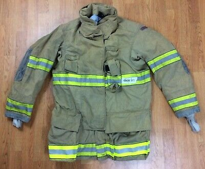 Globe G-Xtreme Fire Fighter Jacket Turnout Coat w/ DRD 42 x 35 '07
