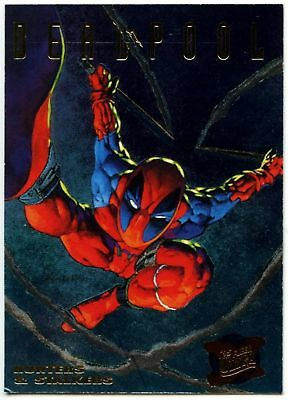 Deadpool #3 of 9 X-Men Hunters And Stalkers 1995 Fleer Ultra Chase Card (C1404)