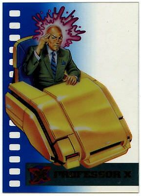 Professor X#8 of 10 X-Men Suspended Animation 1995 Fleer Ultra Chase Card(C1405)
