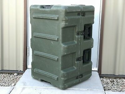 "Pelican Hardigg Medical Case | Rolling Case | Military | 32"" x 20.5"" x 20.5"""
