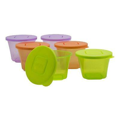 Annabel Karmel By NUK Stackable Storage Pots Stackable Freezer Baby Feeding 6pc