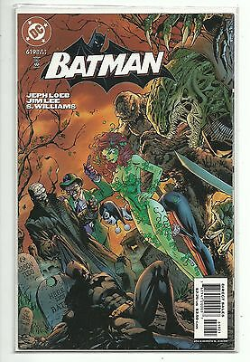 (1940 Series) Dc Comics Batman #619 Villains Variant Cover - Jim Lee - Vf/nm