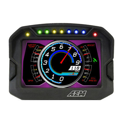 30-5702 Aem Cd-7G Carbon Digital Racing Dash Display Kit With Gps