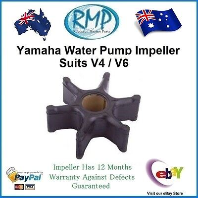 A Brand New RMP Yamaha Outboard Water Pump Impeller V4 / V6 # R 6E5-44352