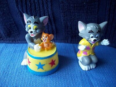 Vtg Turner Entertainment Tom and Jerry Figure