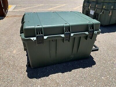 "Pelican iM3075 Hardigg Storm Transport | Rolling Trunk | 29.80"" × 20.80"" × 17.80"