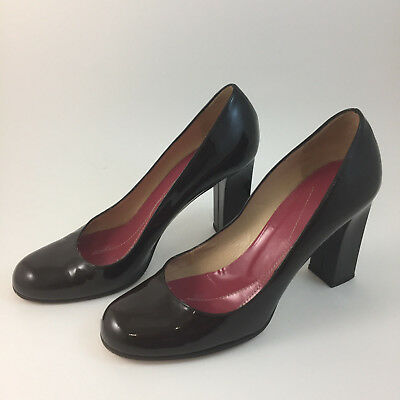 846348879669 Kate Spade New York Chocolate Brown Rounded Toe Classic Pumps Heels Size 8 B