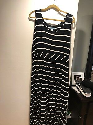 OLD NAVY PLUS Size Maternity Double Xl Black And White ...