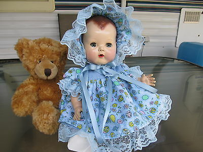"EASTER SUNDAY  3 piece dress set, for 11""-13"" for TINY TEARS or same size dolls"