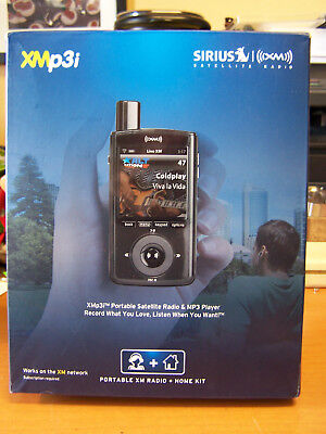 Sirius XM XMp3i Receiver & Home kit XPMP3H1 + Accessories