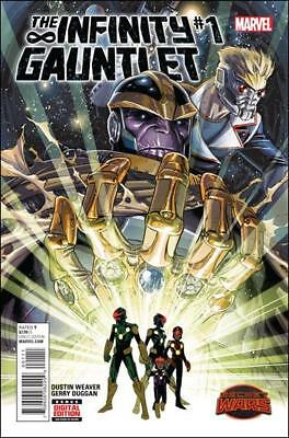 Infinity Gauntlet (2015)   #1 to 5 Complete (secret wars)    NM- to NM/M