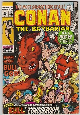 Conan The Barbarian #10 (Oct 1971) Giant Size VG+