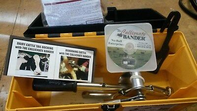 Callicrate Bander Kit No Bull Castrate with 24 Bands Loops Dehorning Dock Tails
