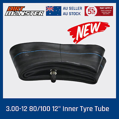 "3.00 - 12"" 80/100 - 12"" Inch Rear Inner Tube 125/140/150 cc Dirt Pit Trail Bike"