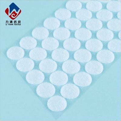 10mm 15mm 20mm 25mm 30mm 500Pack Hook and Loop Dots Coins Self Adhesive Tapes