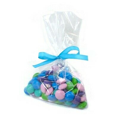 Clear Polypropylene 'Cellophane' Party Treat Favor Bags - 100 bgs CHOOSE A SIZE