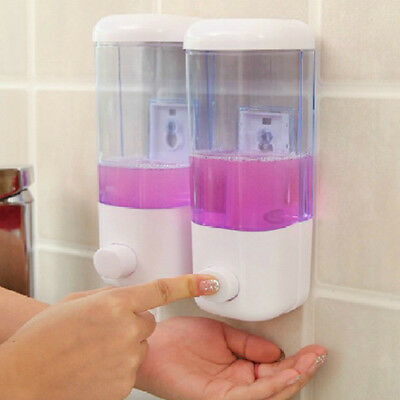 1Pcs Soap Dispenser Bathroom Wall Mount Shower Shampoo Lotion Container Holder