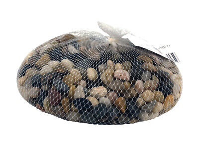 1kg Net of Pebbles for Home Crafts - Browns | Craft Shells Beach Seaside