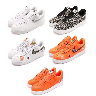 official photos f304d 9a3e6 Nike Air Force 1 07 LV8 JDI Just Do It AF1 One Mens Sneakers Shoes Pick