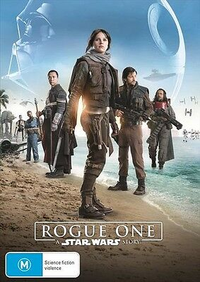 Rogue One - A Star Wars Story, 2017 Action/Adventure Felicity Jones DVD NEW