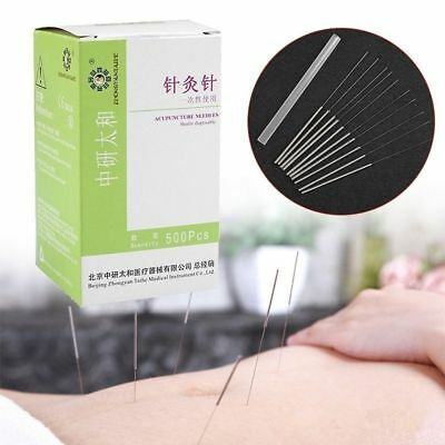 Authentic 100pcs/box Acupuncture Disposable Needle Sterile Needles Single Use