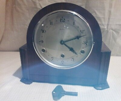Betima Westminster Mantle Clock In E.w.o.   Bet 1