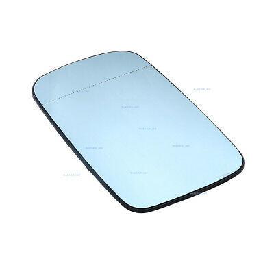 for BMW E46 E65 E66 Right Side Door Blue Heated Blind Spot Mirror 51168247132
