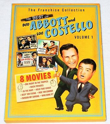 The Best Of Abbott Costello Vol 1 8 Comedy Movies In