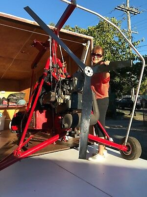 Powered Parachute Technichute Microlight Aircraft. Never used, Enclosed trailer