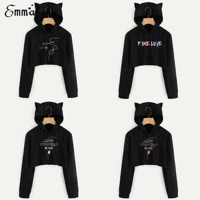 KPOP BTS Bangtan Boys Love Yourself Sweatshirt Hoodie Sweater JIMIN V SUGA New