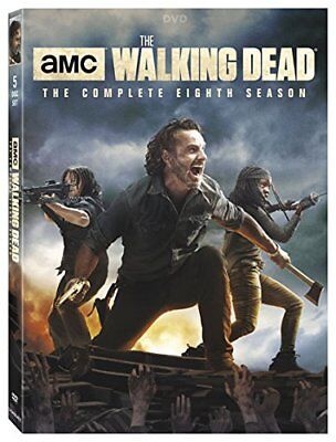 The Walking Dead: The Complete Eighth Season 8 (DVD, 2018, 5-Disc Box Set) New