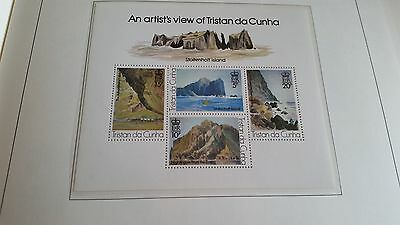 Tristan Da Cunha 1980 Sg Ms276 Paintings (3Rd Series) Mnh
