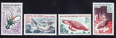 COMORO ISLANDS 1965 SG49/52 Marine Life set of 4 - lightly mounted mint cat £20